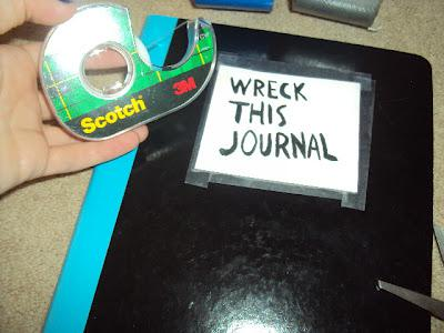 Diy wreck this journal make your own paperblog make your own diy wreck this journal solutioingenieria Images