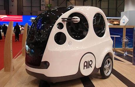 AIRPod, The Car That Runs On Air