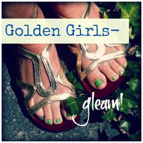 Feeling Golden: Shoes that Gleam