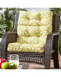 The outdoor high back dining chair cushion freshens up your space and is an easy way to add a layer of comfort to your standard dining chairs. Huge Deal On Cocoa Beach 22 Inch X 44 Inch Outdoor High Back Chair Cushion By Havenside Home 22w X 44l 22w X 44l Shoreham