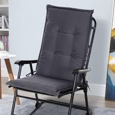 ( 4.6 ) out of 5 stars 299 ratings , based on 299 reviews current price $32.00 $ 32. Outsunny Polyester High Back Outdoor Garden Chair Replacement Cushion Grey Aosom Uk