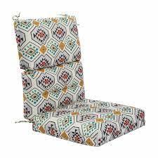 Get a fresh look for the patio, deck or porch with new outdoor cushions for your seating. Modern Navy Blue Outdoor High Back Chair Cushion Set Of 2 Thick Patio Seat Pads Patio Furniture Cushions Pads Yard Garden Outdoor Living Items