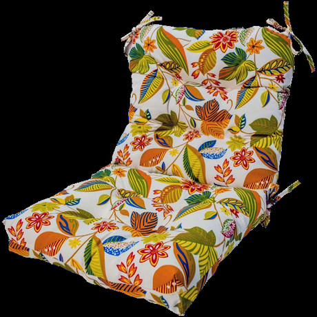 By the fire pit, adirondack chair cushions create a cozy space for making s'mores and swapping stories. Outdoor High Back Chair Cushions Oval Furniture