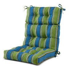These vibrant polyester cushions, in your choice of available. Bay Isle Home High Back Outdoor Lounge Chair Cushion Wayfair