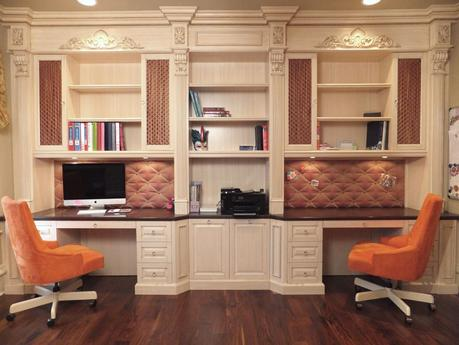 Custom Built Home Office Furniture Shelving Cabinetry In Charlotte Nc