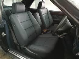 They install and remove easily so you can protect your seats during the week and remove them on weekends. Mercedes Benz W124 Ce Leather Seat Covers Upholstery Installer Newton Leather
