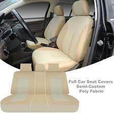 Rugged, superior manufacturing offers protection against messy cargo and rips. Automotive Seat Covers Two Front Car Seat Covers Tan Pu Leather 6 Pc Sets For Mercedes Benz 15903