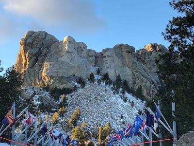 MOUNT RUSHMORE: A LASTING LEGACY, Guest Post by Cathy Mayone