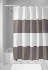 Protect your decorative shower curtains and keep them dry by. Shower Curtains Home Kitchen Extra Wide Extra Wide 15463 Navy Blue 108 X 72 108 X 72 Interdesign Water Repellent And Mildew Resistant Fabric Shower Curtain