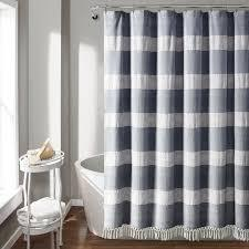 Find great deals on ebay for shower curtain 108. Bath Dosly Idees Tassel Shower Curtain Black And White Boho Tribal Cross Striped Bathroom Curtain Set With Hooks 108 X 72 In Home Dccbjagdalpur Com