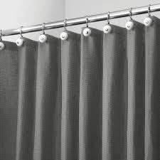 Enjoy free shipping on most stuff, even big stuff. X Wide Waffle Weave Fabric Shower Curtain 108 X 72