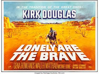 #2,567. Lonely Are The Brave (1962) - The Films of Kirk Douglas