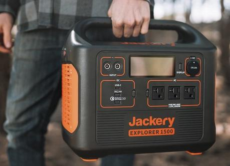 Keep All of Your Important Tech Devices Running with the Jackery Explorer 1500