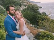 Dreamy Destination Wedding Greece with Vibrant Pops Bougainvillea Blossoms Nikki Craig
