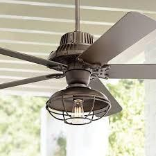 Additionally, our ceiling fans range from small (19 inches) to large (72 inches) and covers a large variety of styles including industrial, tropical, nautical, outdoor, airplane, flower, and more! 60 Industrial Forge Franklin Park Outdoor Ceiling Fan 17h73 Lamps Plus Farmhouse Ceiling Fan Outdoor Ceiling Fans Ceiling Fan Light Kit