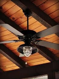 This video covers the complete installation of the north pond ceiling fan with light kit by hampton bay. Dan S Ceiling Fans A Rich And Rustic Ceiling Fan Light Complements Any Outdoor Space With A W Rustic Ceiling Fan Ceiling Fan With Light Exterior Ceiling Fans