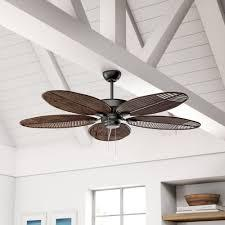 Featuring three plastic blades, this ceiling fan features an included light kit with a frosted white shade. Outdoor Ceiling Fans On Sale Now Wayfair