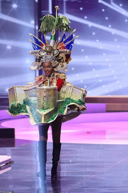 National dress round at Miss Universe 2021 !!