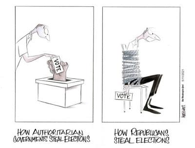 Republicans, Our Votes and Our Democracy