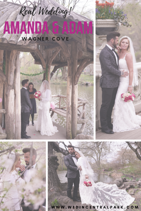 Amanda and Adam's April Wedding in Wagner Cove