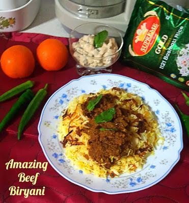 Amazing Beef Biryani @ treatntrick.blogspot.com