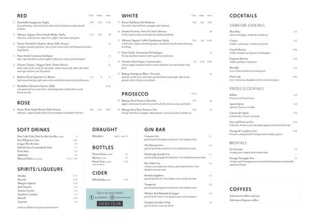 Lucali by Andiamo, Giffnock food review
