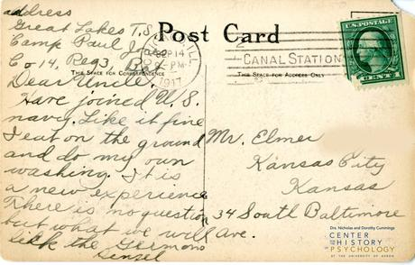 """""""Nothing at all to say"""" and Other Messages from the David P. Campbell Postcard Collection"""