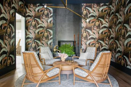 Scheming: Cortney Bishop Does a Tropical Sitting Room on Sullivan's Island