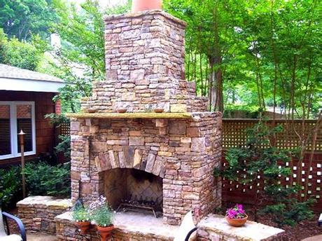Choose from various sizes, stone veneers, and accessories to create the perfect outdoor fireplace for your home. 20 Beautiful Outdoor Stone Fireplace Designs