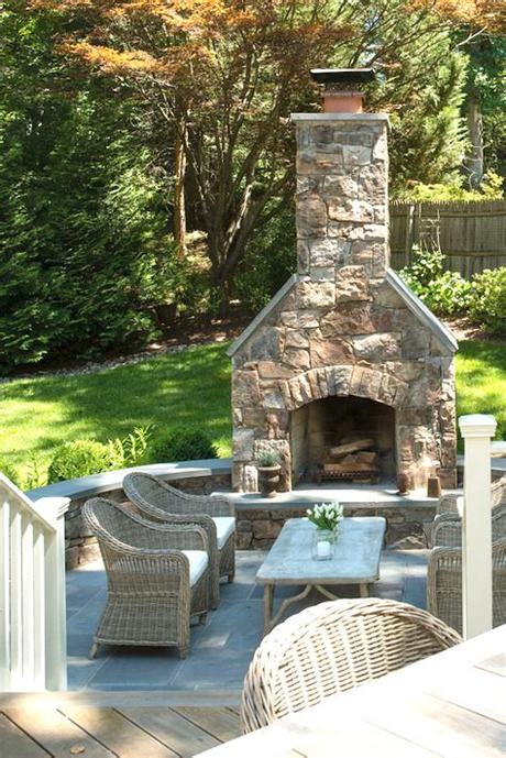 These fireplaces are fun, customizable, and look great in any outdoor living space. Creative Outdoor Fireplace Designs and Ideas