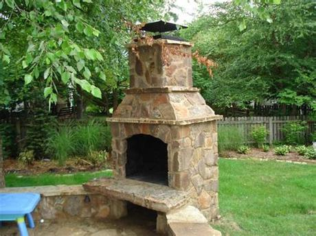 Smaller fireplaces available starting at $2850. Home Improvement Outdoor Stone Fireplaces   HubPages
