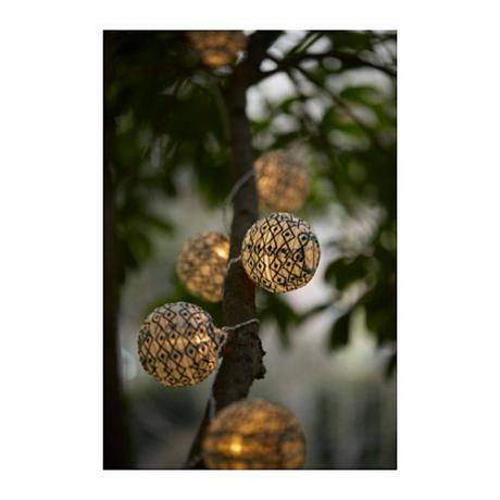 Mini outdoors decorative lights | Eclectic decor ...