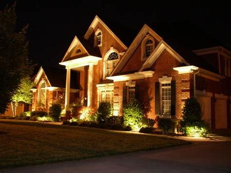 The clear, seedy glass is framed by wire strips that give the appearance of windows and help create a warm ambience and added safety around. Outdoor Home Security Lighting Tips Archives - KB Electric LLC