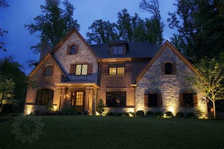 The area you want to illuminate; What to Highlight with Your Outdoor Lighting - Dusk To ...