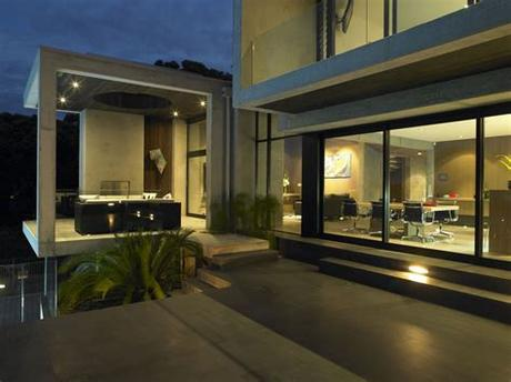 Outdoor lighting includes a variety of light fixtures that address and improve exterior home security and safety. Modern Outdoor Lightning as Illuminating Decoration for ...