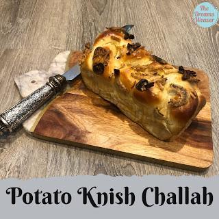 Potato Knish Challah ~ The Dreams Weaver