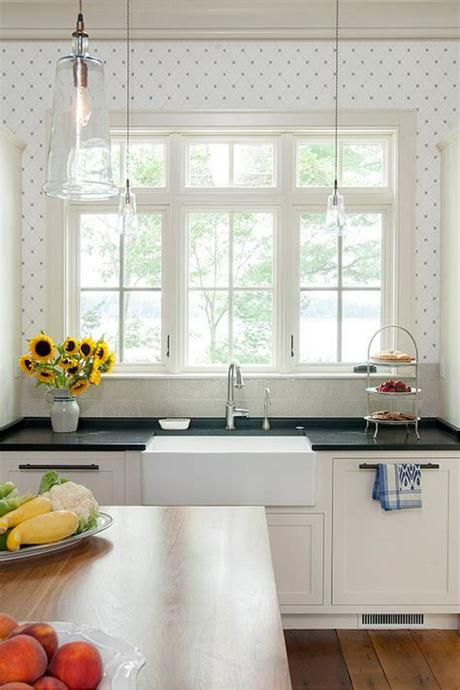 10 gorgeous kitchen wallpaper options to instantly elevate the look of your kitchen! Unique Decor Ideas: Functional Kitchen Wallpaper Ideas ...
