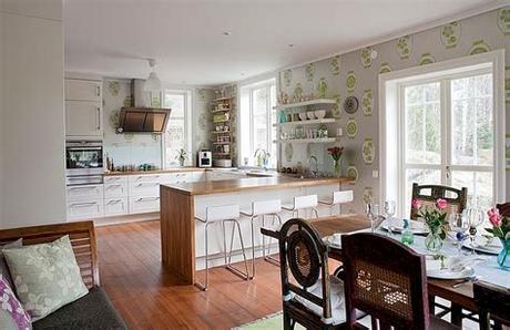 Get a free sample now! Kitchen Wallpaper Ideas - Wall Decor That Sticks