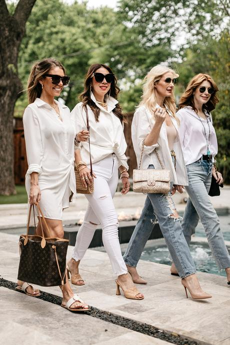 CHIC AT EVERY AGE // HOW TO STYLE A WHITE BUTTON DOWN