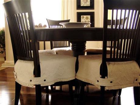 Removable spendex chair seat cover stretch slipcovers short dinning room. Get the Attractive Chairs with Slip Covers for Chairs ...