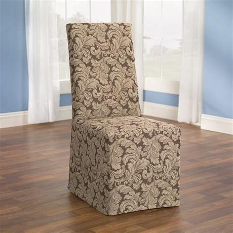 Smiry stretch jacquard office washable & removable chair seat covers Slipcovers for Dining Room Chairs That Embellish your ...