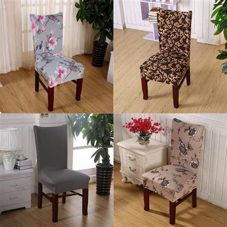 Its dimensions are 8.9*7.3*2.2 inches. Chair Covers Soft Spandex Fit Stretch Short Dining Room ...
