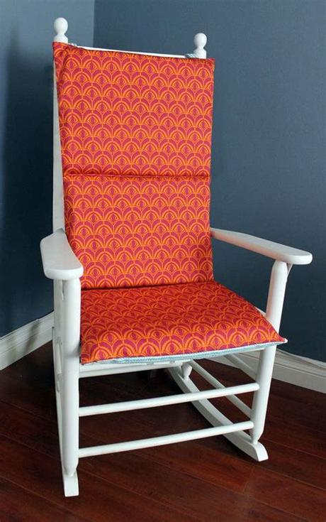 Office chair covers will protect your office chair from dust, dirt, and different types of stains, and. Rocking Chair Cushion Cover - Blue Tangerine   Rocking ...