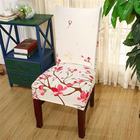 Removable spendex chair seat cover stretch slipcovers short dinning room. Monily Spandex Elastic Removable Hotel Chair Covers ...
