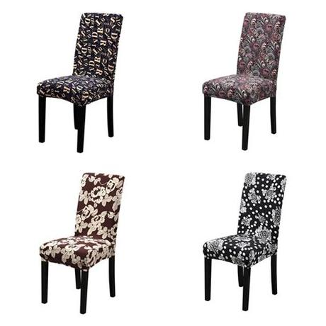 Its dimensions are 8.9*7.3*2.2 inches. Dreamworld New Elastic Chair Cover for Computer/dining ...