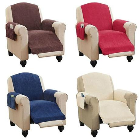 Besides good quality brands, you'll also find plenty of discounts when you shop for chair cover seat during big sales. Faux Chenille Recliner Chair Furniture Cover & Pockets 4 ...