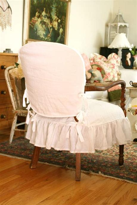 Luckily, our chair covers are removable and washable, so you'll never need to stress over the occasional messy meal. Custom Slipcovers by Shelley: Wood Arm Chair Slipcover