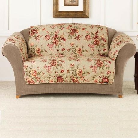 Pet Furniture Covers Floral Print Throw Sofa Cover Pet ...