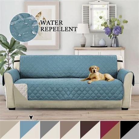 Sure fit makes quality sofa covers for pets. H.VERSAILTEX 1-Piece Regular Reversible Sofa Pet Cover ...