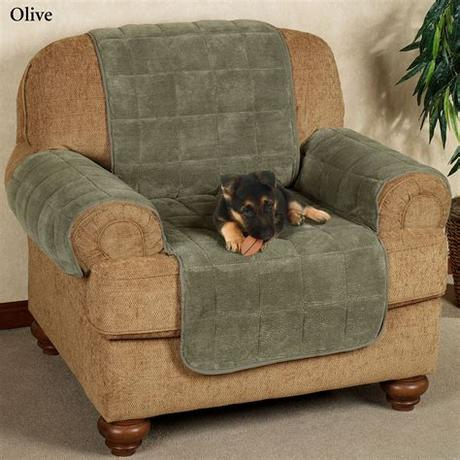 Quilted sofa slip cover, anti slip pet furniture sofa protector throw for dog. Microplush Pet Furniture Covers with Longer Back Flap